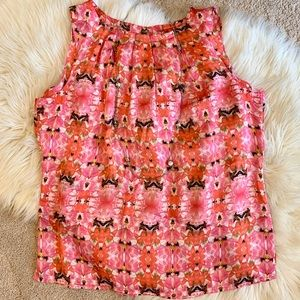 Lovely Pink Floral Tank